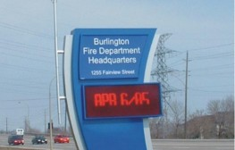 LEDBurlingtonfire