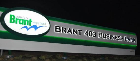 Landmark New Signage in Brant 403 Business Park